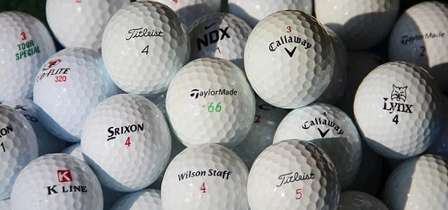 The Different Types of Golf Balls